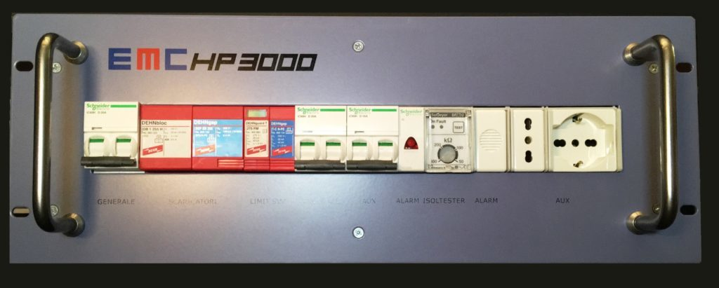 EMC 3000HP-3U Rack High Efficency